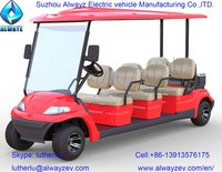 Electric golf car AW2068K (2-seater, 4-seater and 6-seater all available)