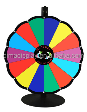 24'' prize wheel with new design,lucky wheel