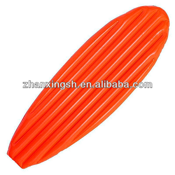 inflatable PVC surfboard for children,inflatable mattress with cartoon printing