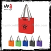 New design foldable shopping bag, non woven wine tote bag, folding tote bag