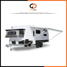 Camper trailer OEM Luxury decoration off -road Independent suspension Caravan accept custom made