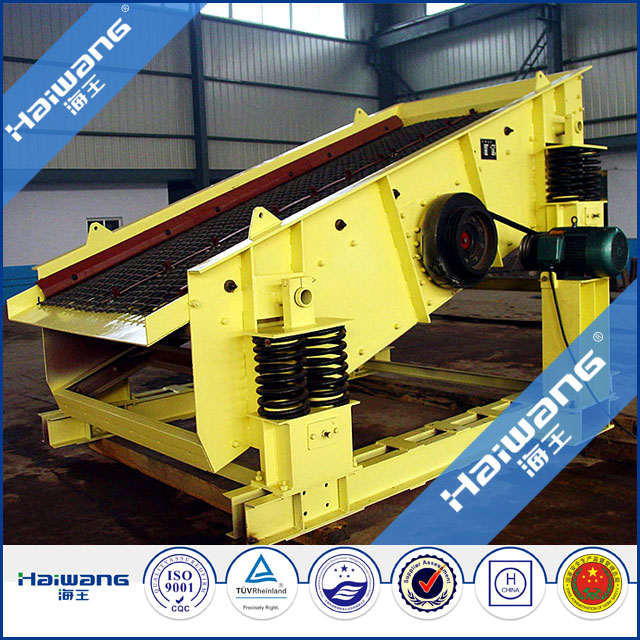 Gold Ore Sand Double Deck Vibrating Screen , Sieving Machines