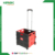 Foldable pack n roll folding plastic shopping trolley
