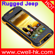 JEEP F605 Waterproof Rugged Smartphone 4.5 Inch Android 4.4 Dual Core 512MB/4GB GPS Dual Sim Card 12000mAh Unlocked
