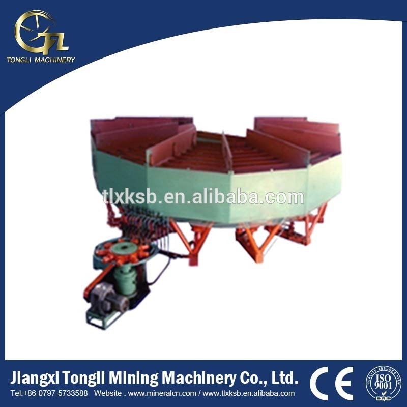 High Recovery Gold Refining Machine Hydraulic Radial Jig