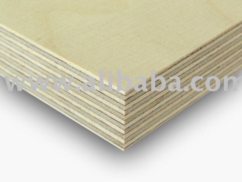 Birch Plywood. WBP BFU 100