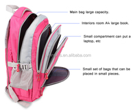 Large Lightweight Kids School Bags Backpack For Heavy Books