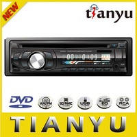 Professinal car dvd supplier: 1 din car dvd player with fm transmitter and usb