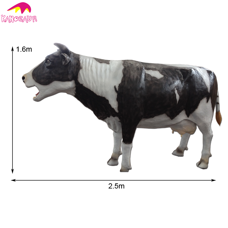 Outdoor Decoration Cow Model