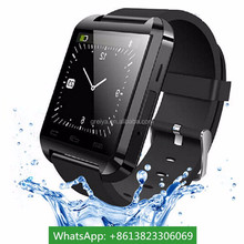 Hot selling trendy led x01 smart watch phone 2015 china smart watches waterproof gps android smart phone bluetooth smart watch u