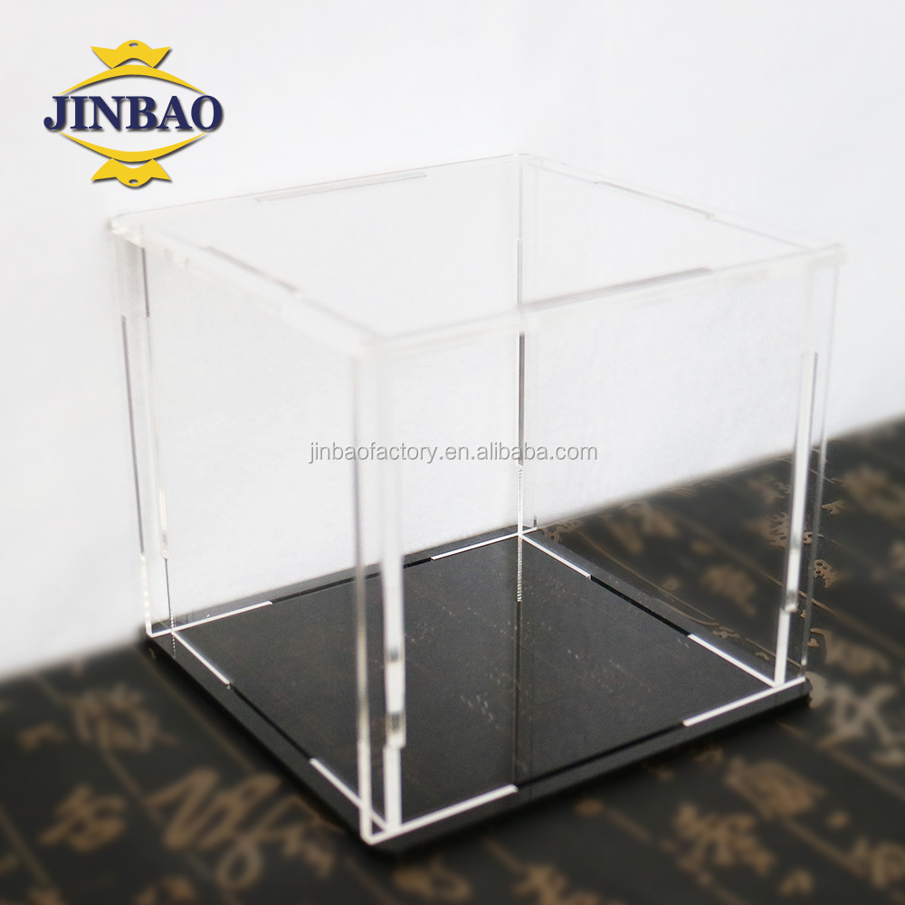 JINBAO top grade bespoke custom logo store display shoe box 100% acrylic