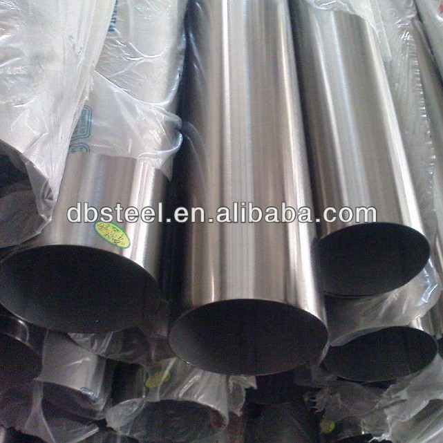 Bright surface 321 welded stainless steel round tubes