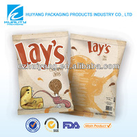NEW!! Inflatable chicken chips plastic food packaging printed bag
