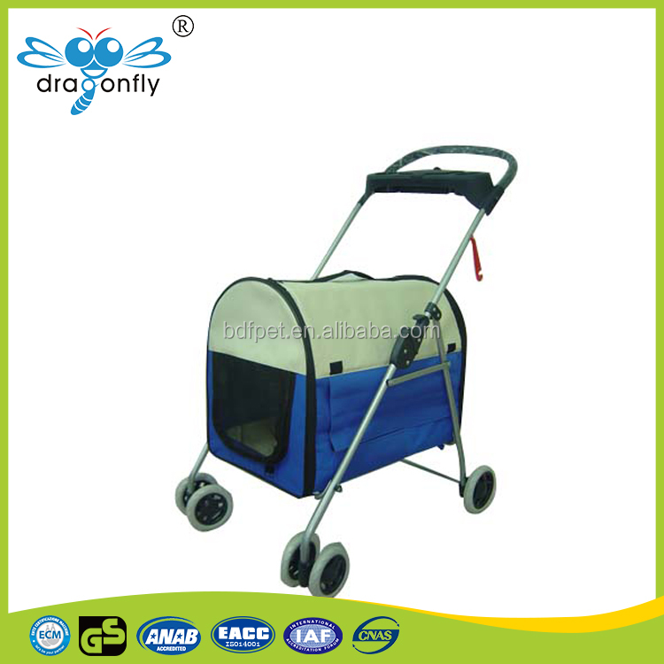 600D oxford Foldable Bicycle Pet Trailer Medium with Waterproof