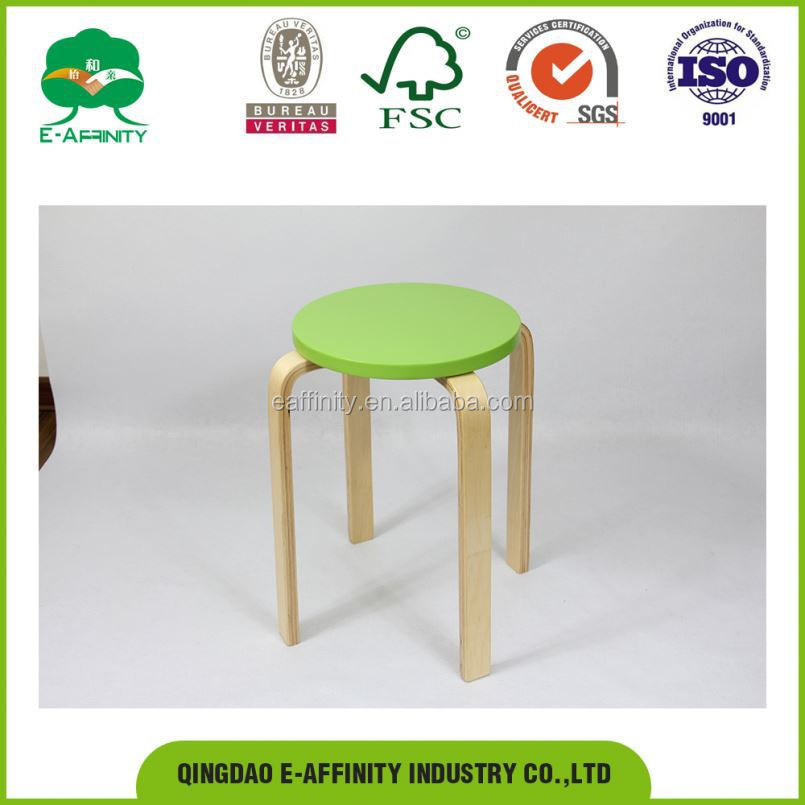 KS-14 Class A Work Wooden Stools For Cheap