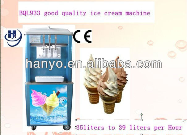 Commercial ice cream machine for sale
