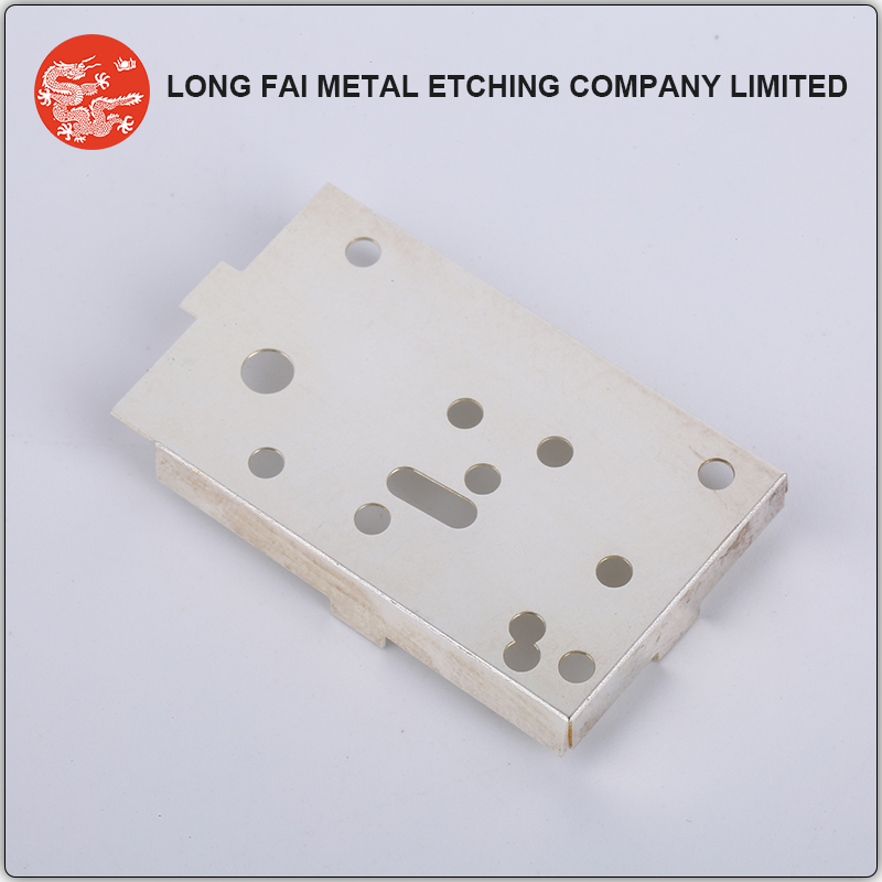 Custom stainless steel stamping EMI / RF cover for cell phone shielding case