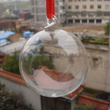 unique decoration hyaline glass hollow spheres MH-Q064
