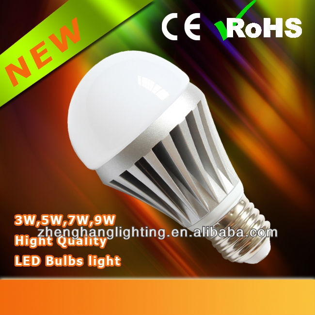 LED Bulb, 5W Bulb Light, Taiwan SMD Jiangmen Manufacturer E26, E27, B22 Lamp Holder Bulb Lamp