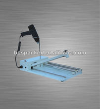 industrial hand bag sealer with shrinking gun for sausage