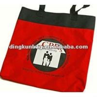 2012 natural color high quality cotton shopping bag