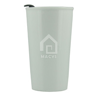 14oz starbucks porcelain travel mug with PP lid