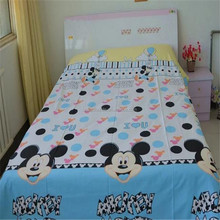 Rich and colorful soft cotton printed fabric for bedsheet and bedding