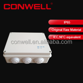 ABS electrical junction box with Cable Gland small electronic instrument