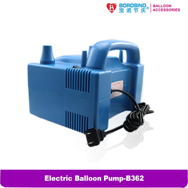 B362 Party Decoration 800w Two Nozzles Electric Balloon