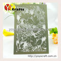 Lace card wedding invitations chinese birthday invitation cards laser cut elegant invitation cards