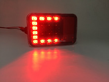 Auto spare parts led rear bumper lamp for jeep wrangler off road 4X4 TRUCK