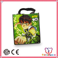 GSV certification newest design promotion non woven drawstring shopping bags