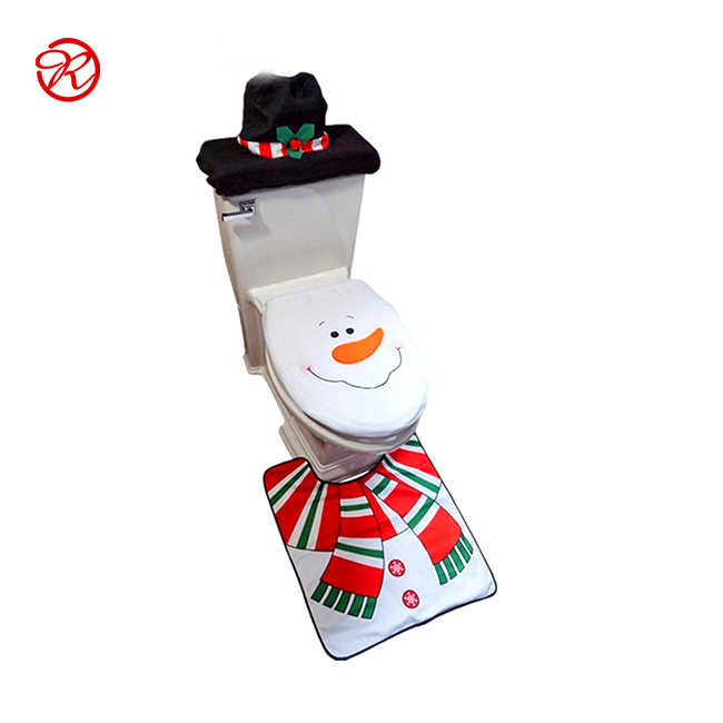 China Supplier Christmas Toilet Seat Cover For Decoration made in china