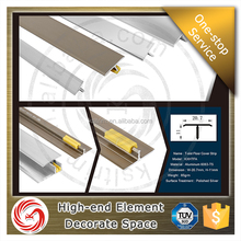 2016 HOT ITEM T shape floor trim aluminium floor transition strips