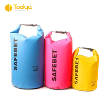Custom printed logo survival pack outdoor waterproof dry bag