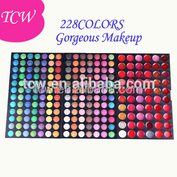 Wholesale Cosmetics Set 228 Colors Cheap Makeup Mixing Palette
