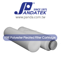 absolute filter polypropylene 1 micron PP pleated membrane filter cartridge for swimming pool