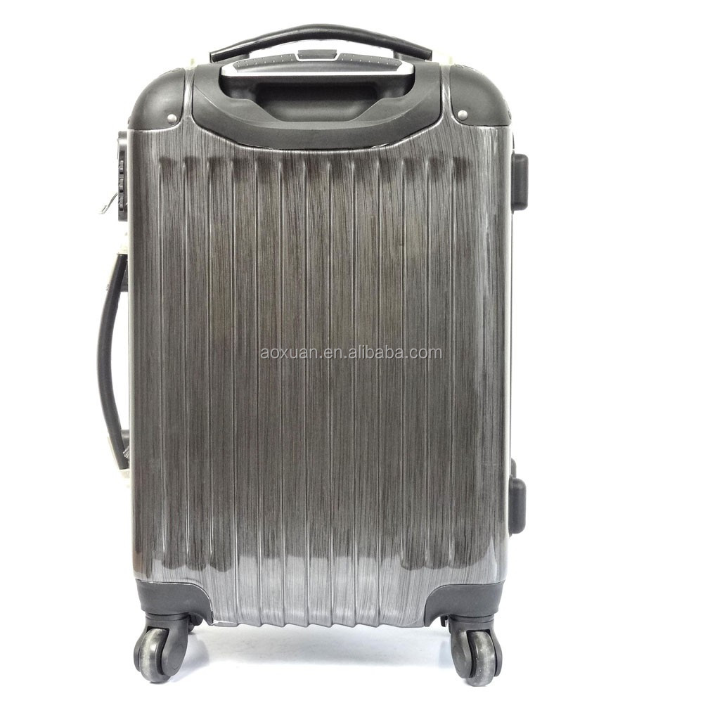 abs pc luggage bag Alibaba Shanghai Factory travel luggage bag trolley cases