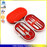 practical fashional Personal Beauty Care oval girl pedicure manicure set