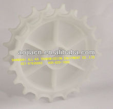 6200 plastic chain matched sprockets for modular belt