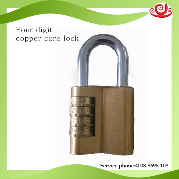 four digit cooper core lock