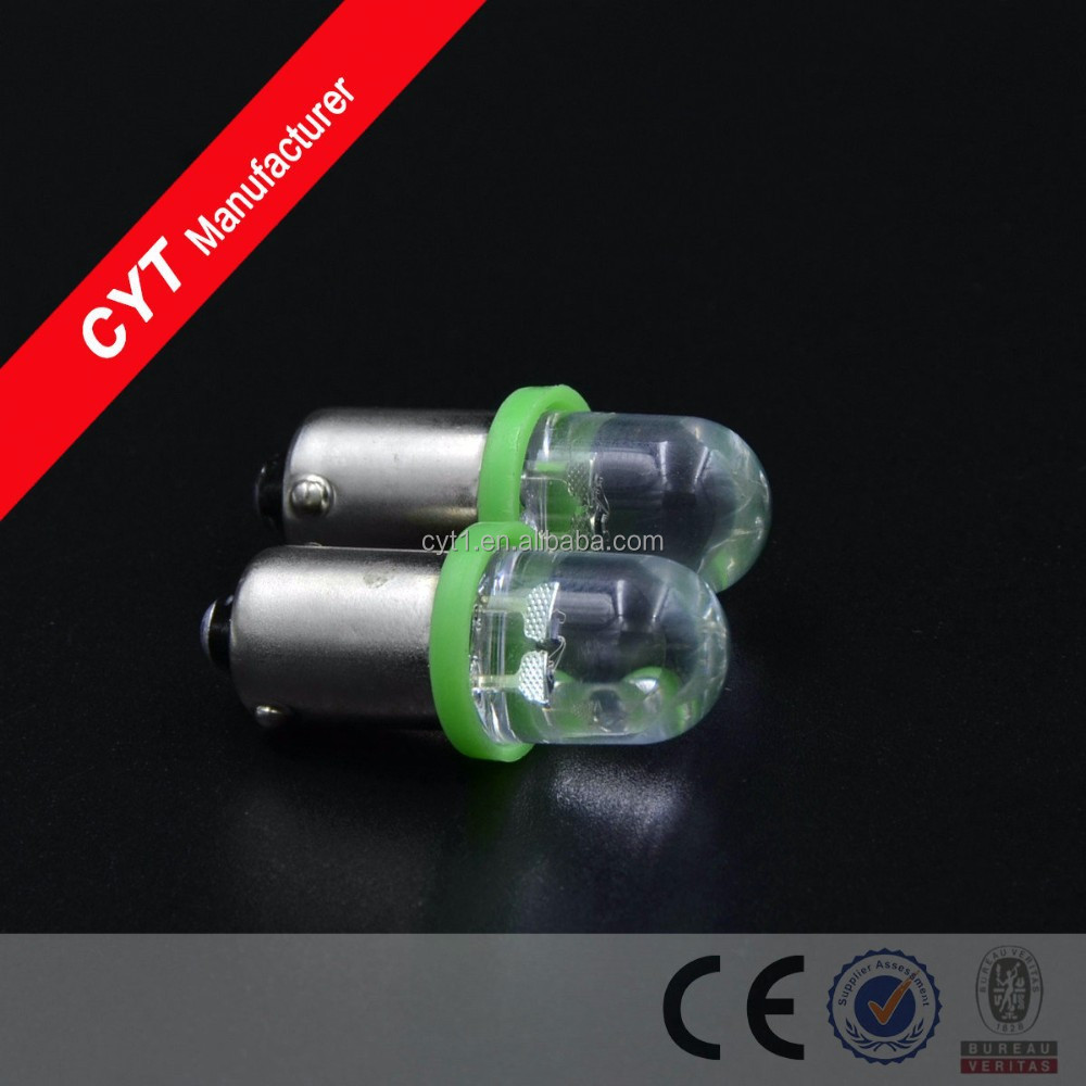 0.5W DC12V BA9S 1 x 2LED Colorful Car Lights Clearance Lights/Marker Lamps/Reading lamp Tail light