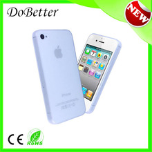 china factory Unique slim 0.3mm ultra thin case for iphone 4/ 4s paypal OEM/ODM welcome
