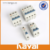 High Quality 6,10,16,20,25,32,40,50,63 Rated Current 3 pole rccb circuit breaker