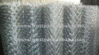 Temporary Galvanised Chain Link Fencing