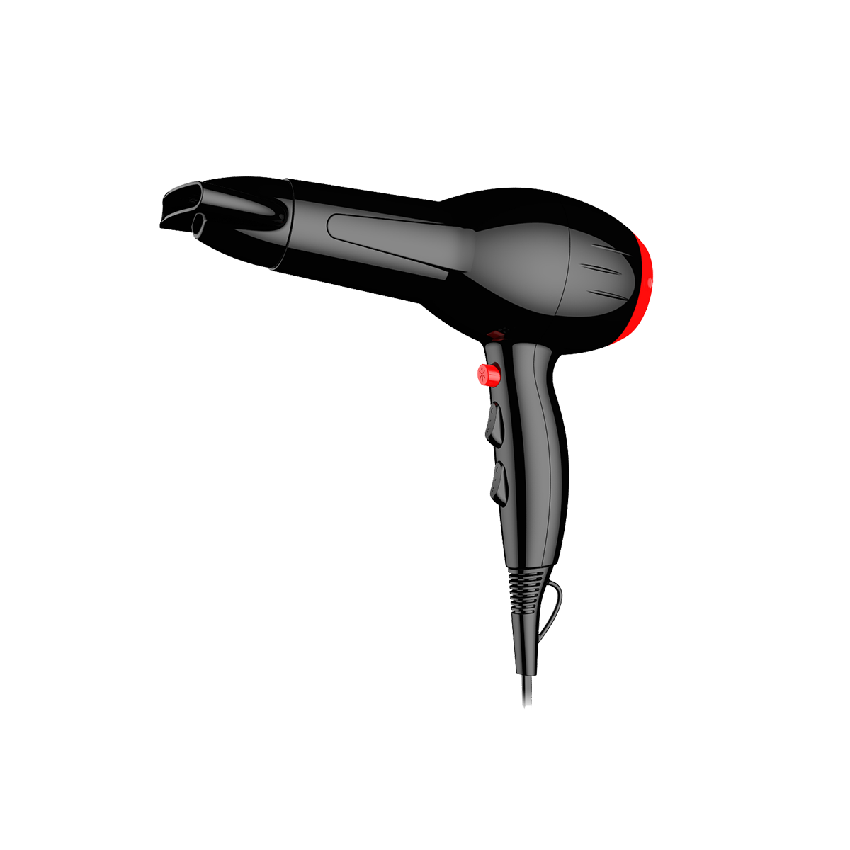 WizHaus PROFESSIONAL HAIR DRYER RK512 2000W WITH AC MOTOR INSIDE BRAND HORAY MOTOR