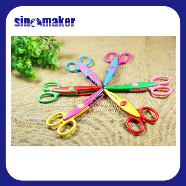 Zig Zag Scissors Scrapbooking Craft Edged Scissors