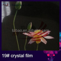 hot sale crystal PET lamination film for photo