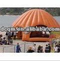 Special Big Orange Pumpkin Inflatable Dome Tent
