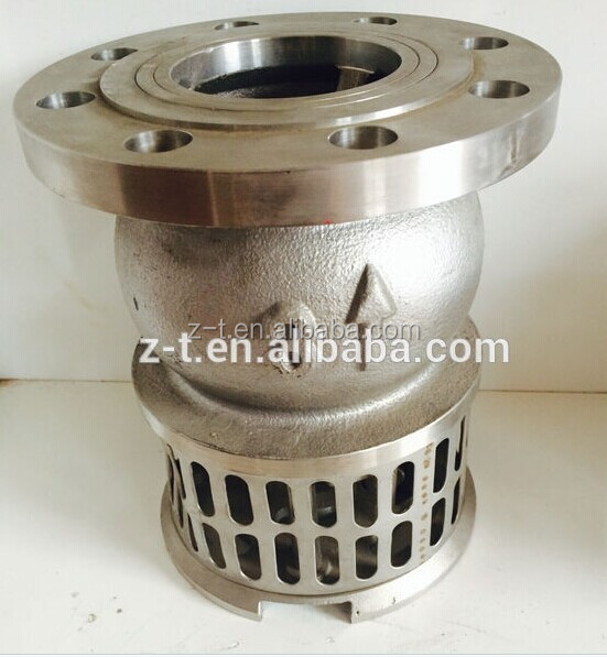 CF8 / CF8M / WCB Stainless steel Foot valve